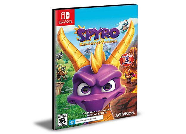 Spyro Reignited Trilogy NINTENDO SWITCH Mídia Digital