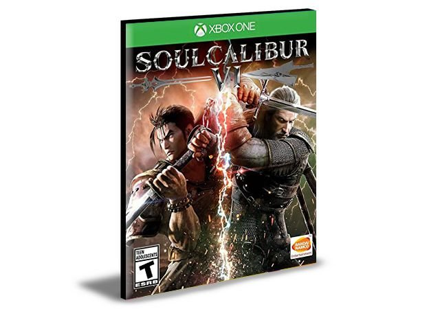 Soulcalibur Vi 6 Português Xbox One e Xbox Series X S Mídia Digital