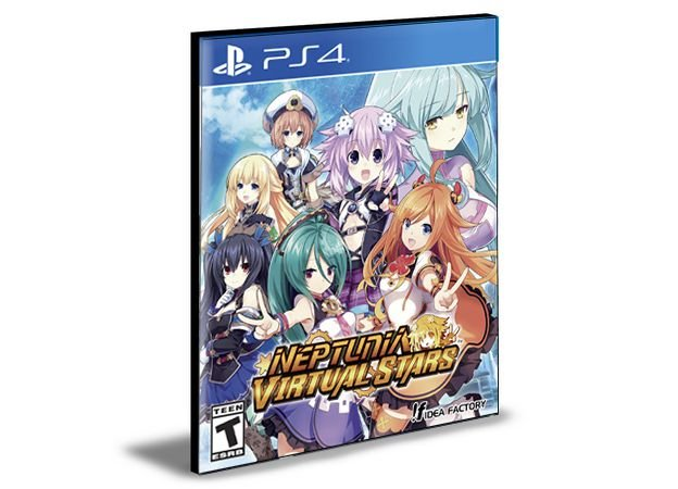 NEPTUNIA VIRTUAL STARS PS4 e PS5 PSN MÍDIA DIGITAL