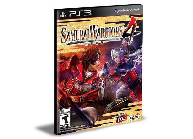 Samurai Warriors 4  Ps3  Psn  Mídia Digital