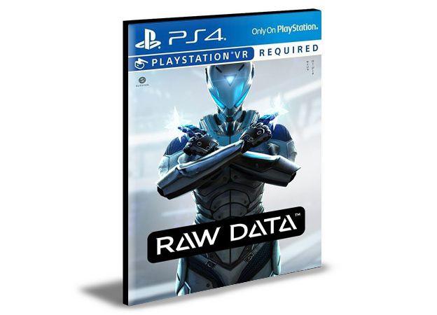 Raw Data PS VR  Ps4  PSN  Mídia Digital