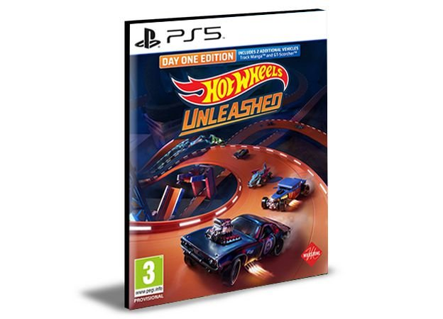HOT WHEELS UNLEASHED PS5  Mídia Digital