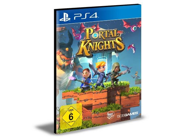 Portal Knights Português  Ps4 e PS5  Mídia Digital
