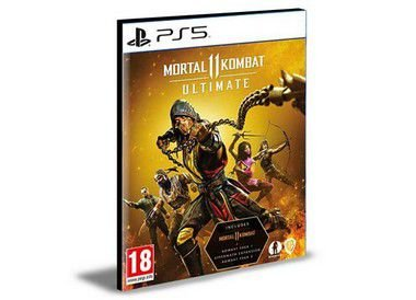 Mortal Kombat 11 Ultimate Bundle (Jogo + Dlcs) Ps5 Português Psn Mídia Digital