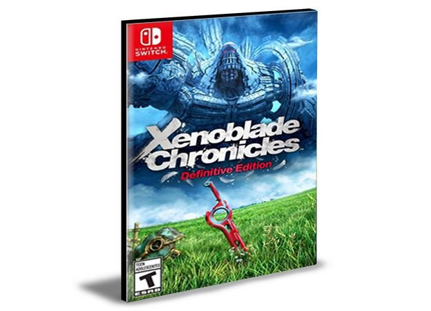 Xenoblade Chronicles Definitive Edition Nintendo Switch  Mídia Digital
