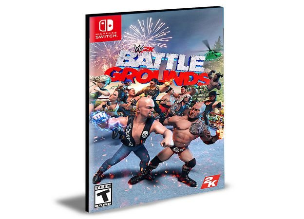 WWE 2K Battlegrounds Nintendo Switch Mídia Digital