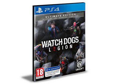 Watch Dogs Legion Ultimate Edition Ps4 Psn - Mídia Digital