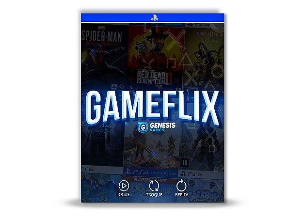 Gameflix Ps4 e Ps5