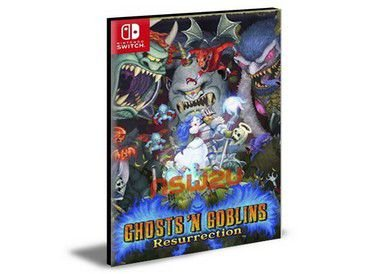Ghosts 'n Goblins Resurrection Nintendo Switch Mídia Digital