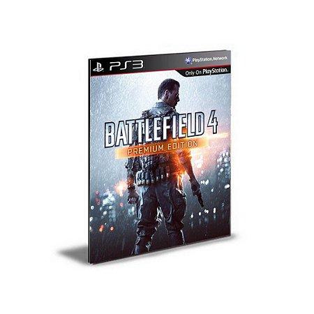 Battlefield 4 Premium Edition Português Ps3 Psn  Midia Digital