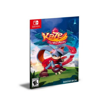 Kaze and the Wild Masks Nintendo Switch Mídia Digital