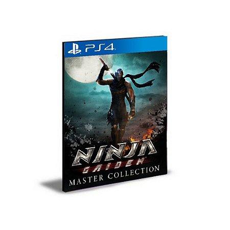 NINJA GAIDEN Master Collection Ps4 e Ps5  Psn  Mídia Digital