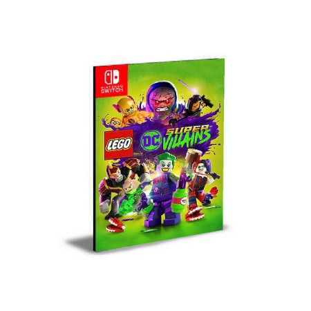 LEGO DC Super Villains Português NINTENDO SWITCH Mídia Digital