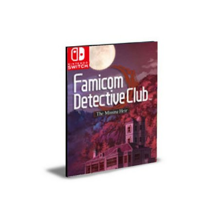 Famicom Detective Club The Missing Heir Nintendo Switch Mídia Digital