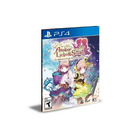 Atelier Lydie & Suelle The Alchemists and the Mysterious Paintings DX Ps4 e Ps5 Psn  Mídia Digital
