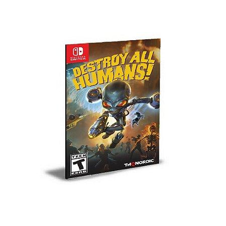 Destroy All Humans! Nintendo Switch MÍDIA DIGITAL
