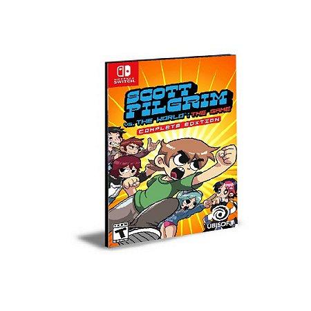 Scott Pilgrim vs The World The Game  Complete Edition Nintendo Switch Mídia Digital