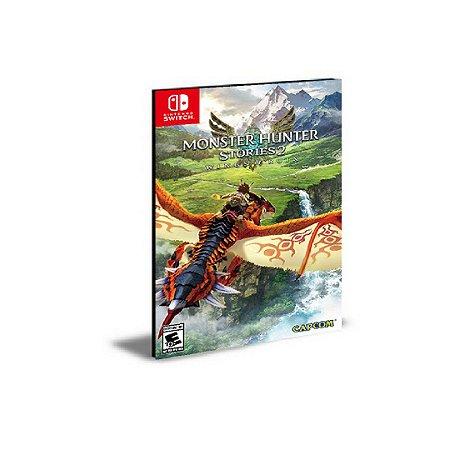 Monster Hunter Stories 2 Wings of Ruin Português Nintendo Switch Mídia Digital