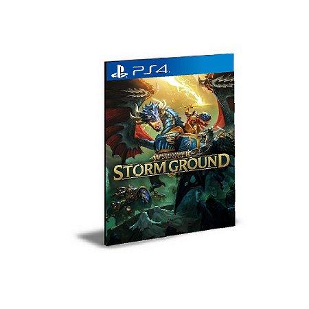 Warhammer Age of Sigmar  Storm Ground  Ps4 e Ps5  Psn Mídia Digital