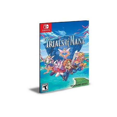 Trials of Mana Nintendo Switch Mídia Digital