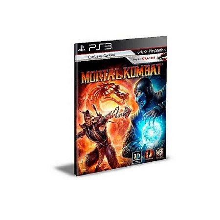 Mortal Kombat 9 Ps3 Psn Mídia Digital