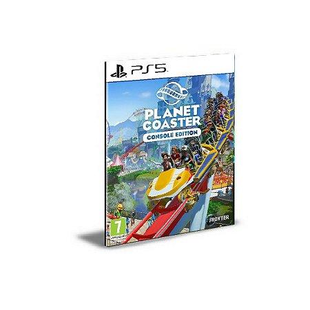 Planet Coaster Edição de Console Ps5 Psn Mídia Digital