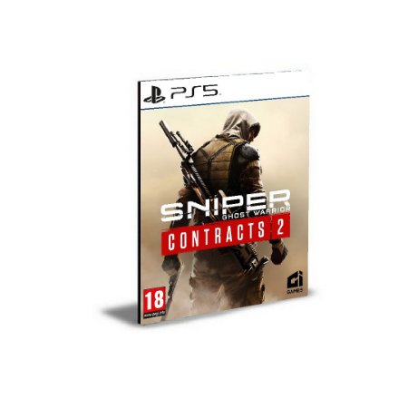 Sniper Ghost Warrior Contracts 2 Ps5 Psn Mídia Digital