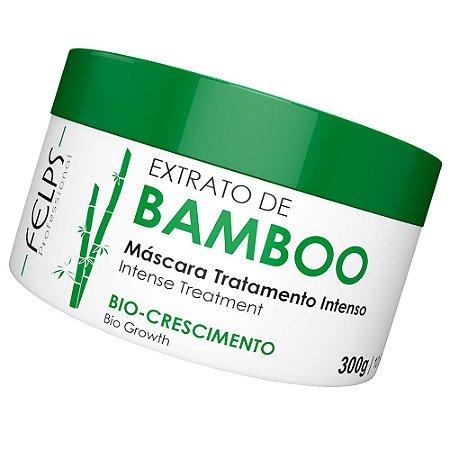 Máscara Hidratação Extrato De Bamboo Felps Professional 300g