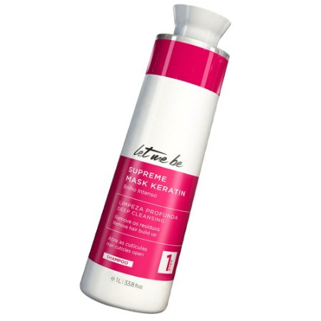 Shampoo Anti Resíduo Supreme Keratin Let Me Be 1000ml
