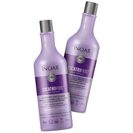 Inoar Cicatrifios Loiro Perfeito Shampoo + Condicionador 2x800ml