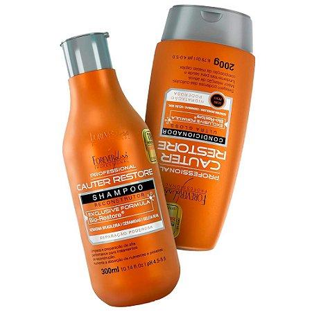 Kit Forever Liss Cauter Restore Shampoo + Condicionador 200g