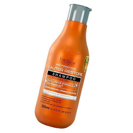 Forever Liss Shampoo Cauter Restore Reconstrutor 300ml
