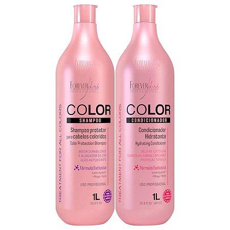 Kit Forever Liss Color Shampoo + Condicionador 2x1000ml
