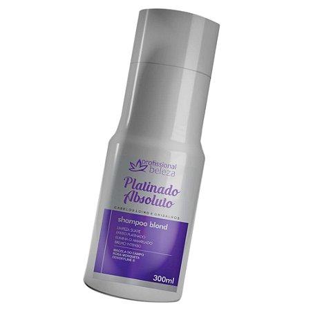 Shampoo Blond Platinado Absoluto Profissional Beleza 300ml