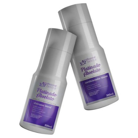 Kit Platinado Absoluto Shampoo + Condicionador 300ml