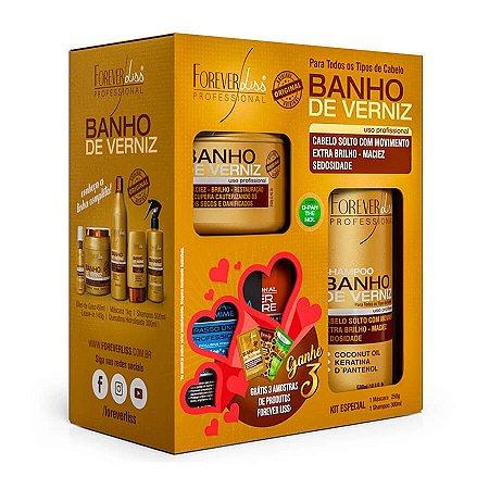 Forever Liss Kit Especial Banho De Verniz Com Brinde