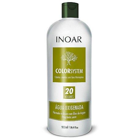 Inoar Água Oxigenada OX 20 Volumes Color System 900ml