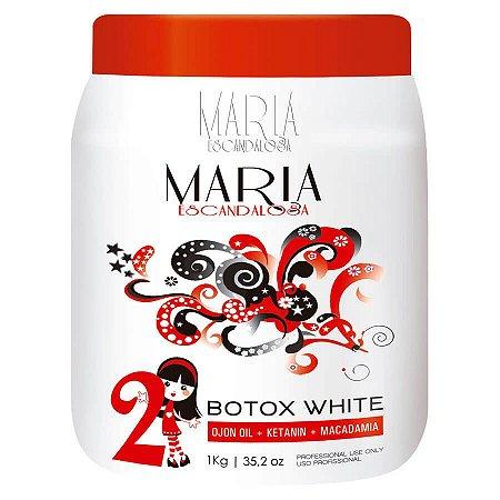Botox Capilar White Beautox Maria Escandalosa 1Kg