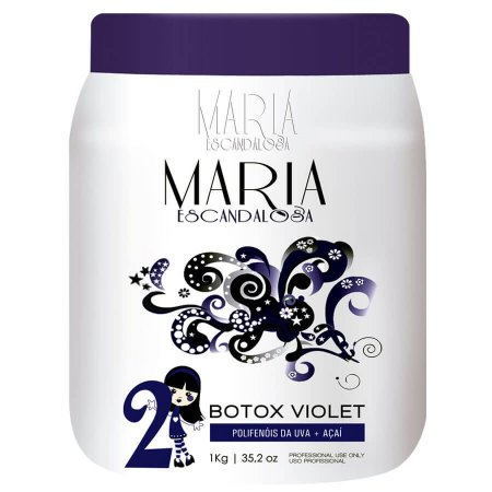 Btx Matizador Capilar Violet Maria Escandalosa 1Kg