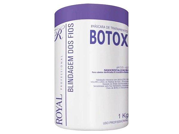 Btx Blindagem Capilar Nanocristalização Royal 1Kg