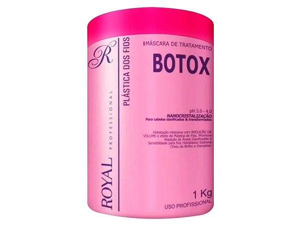 Botox Plástica Dos Fios Nanocristalização Açaí Royal 1kg