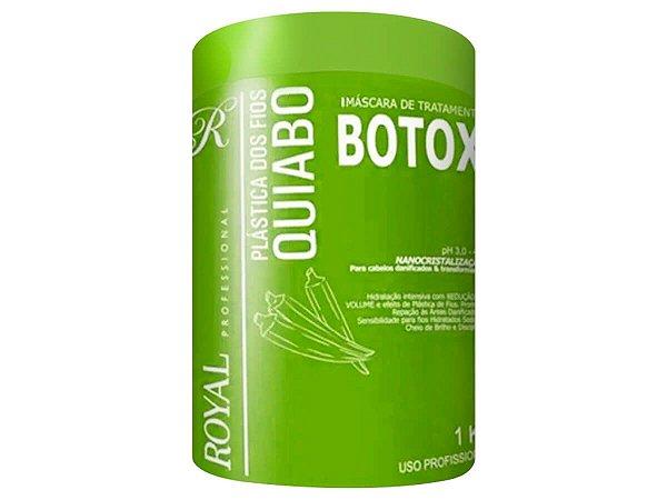 Botox Plástica Dos Fios Nanocristalização Quiabo Royal 1kg