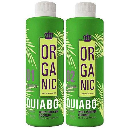Escova Progressiva Quiabo Organic Fioperfeitto 2x300ml