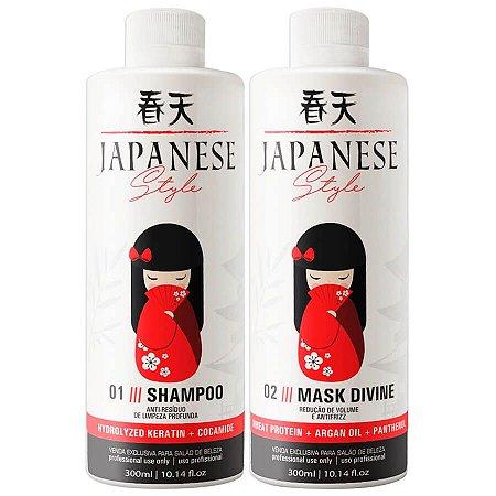 Escova Progressiva Japonesa Style Fioperfeitto 2x300ml