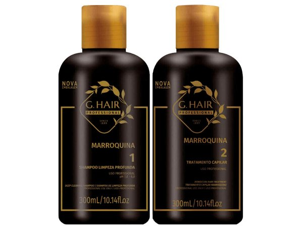 Escova Progressiva Marroquina G Hair 2x250ml