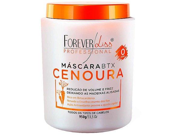 Forever Liss Btx Cenoura Sem Formol 950g