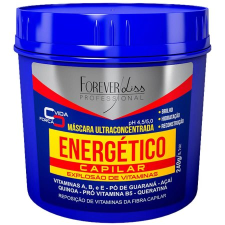 Forever Liss Máscara Energético Vitaminas Capilar 240g