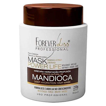 Forever Liss Máscara Hidratante Mandioca Power Life 250g
