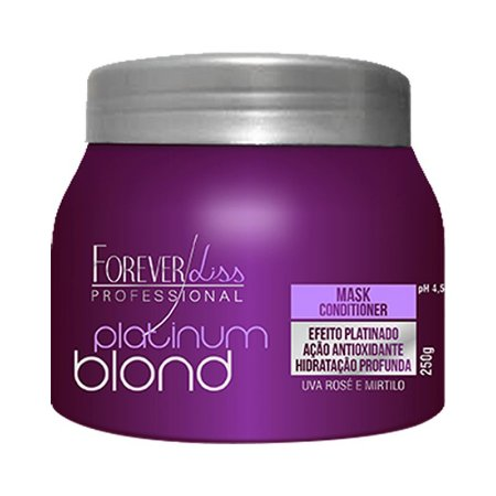 Forever Liss Máscara Matizadora Platinum Blond 250g