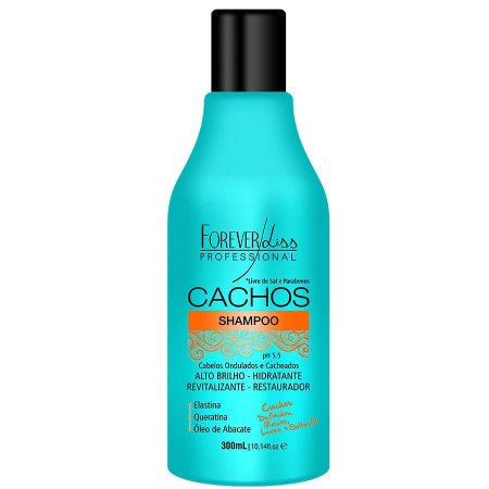 Forever Liss Shampoo Definidor de Cachos Sem Sal 300ml